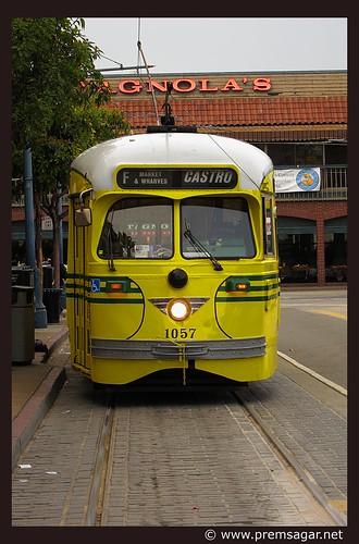 Heritage street cars of SFO