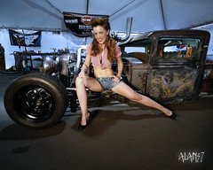 harley truck,welderup style (alan57) Tags: cars photoshop eyes women faces diesel lasvegas models rusty harley bottoms autos brandi custom rods pinups ratrods sigma1020mm carshows promogirls rodrun alan57 coffeeshopactions welderup brandibottoms dieselrod