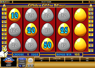 free Golden Goose Winning Wizards bonus feature