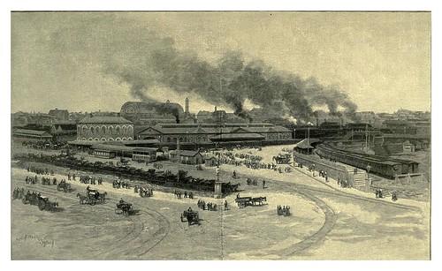 013-Redfern estacion de trenes en Sydney-Australasia illustrated (1892)- Andrew Garran