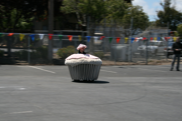 Maker Faire Cupcake Scooter