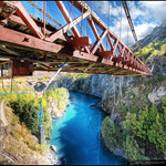 Kawarau Suspension Bridge, Queenstown  (Hot Spot for Bungy Jumping :)) :: HDR :: Vertorama