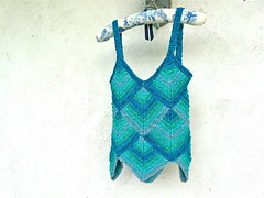 Watercolor Camisole (lrbonebrake) Tags: cotton camisole hpkchc