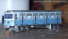 Alsthom MP-59 (infecktedmetromx) Tags: paris metro métro alstom ratp papercraft maquette papermodel cardmodel métroparisien alsthom mp59 maquetadepapel