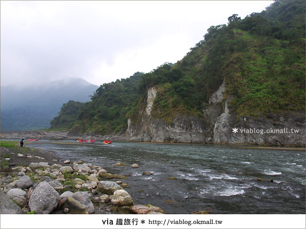 【花蓮旅遊】暑假玩花蓮最消暑的玩法~秀姑巒溪泛舟啦!14
