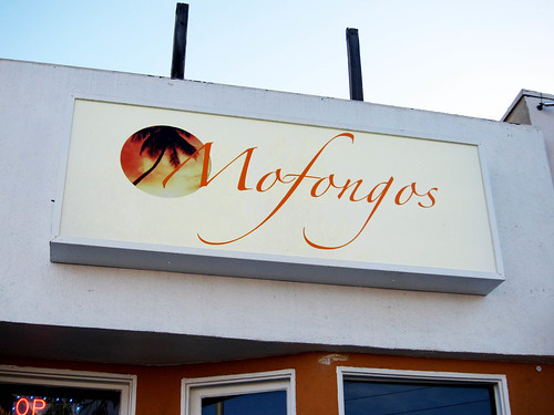 Dinner at Mofongos Restaurant
