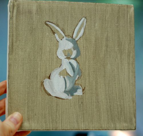 035 - Bunny Painting2