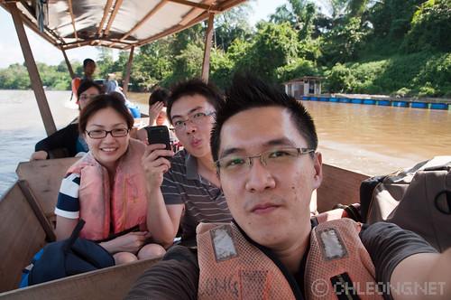 Along Sungai Pahang