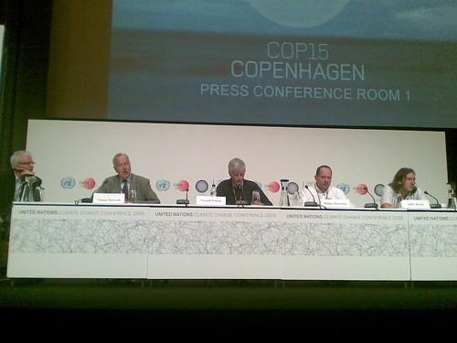 Philip Thornton at Climate Meeting in Copenhagen 2009