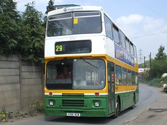 Carlton, Barnsley (Andrew Stopford) Tags: volvo carlton stagecoach barnsley citybus hodsons deckerbus b10m burnleypendle lincolnshireroadcar alexanderrv f106xcw