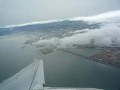 Departing SFO