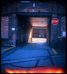 Ansco Clipper 616 Camera / Butler Center USA (Michael Raso - Film Photography Podcast) Tags: kodak butler kodake100vs 616 expiredfilm anscoclipper newjerseyusa 616film anscoclipper616camera