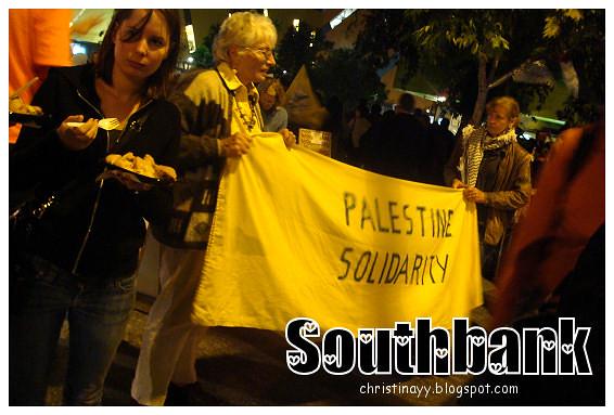 Southbank: Palestine Solidarity