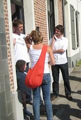 Caroline en Johan op huisbezoek
