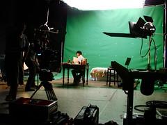 "On Set ""The Music of Eric Zann"" (VFS Entertainment Business Management) Tags: lovecraft hplovecraft greenscreen onset vfs ebm vancouverfilmschool entertainmentbusinessmanagement musicoferichzann"