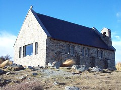 The Church Of The Good  Shepard (a-dinosaur) Tags: new lake church island good south zealand shepard tekapo the of