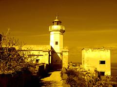 Faro di Capo Zafferano (supervito) Tags: canon faro palermo capo zafferano aspra