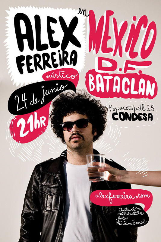 Alex Ferreira en Mexico DF