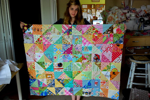 Olivia's quilt (in progress)