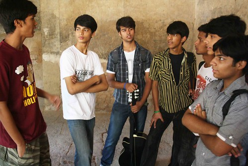 City Life - The Band of Brothers, Hauz Khas Ruins
