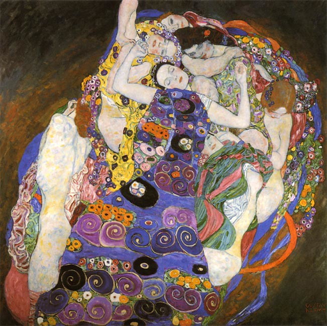 Gustav Klimt The Virgin 1913