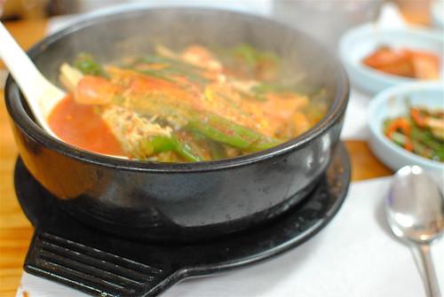 Kimchi Jjigae At Mapo