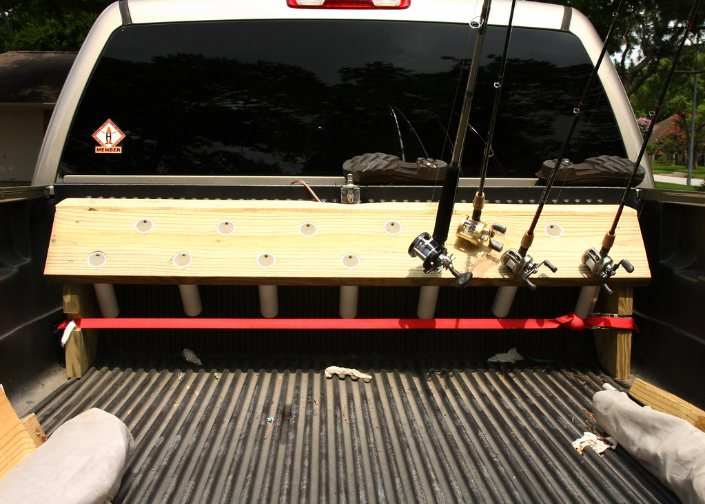 Easy Truck Bed Rod Holder 20 Bucks And A 6 Pack The