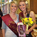 2009 Queen Sally Kirk and 2010 Princess Jessica Watts