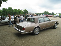 """The Seville Cadillac was manufactured in Iran under the brand name of """"Cadillac Iran"""" from 1978 to 1987 by Pars Khodro, (AlainDurand) Tags: france cars gm cadillac 94 iledefrance vintagecars vincennes generalmotors uscars vincennesenanciennes cadillacseville alaindurand usvintagecars régioncapitale classicmotorshows"""