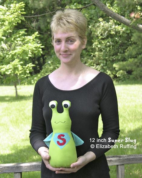 12 inch Super Slug by Elizabeth Ruffing