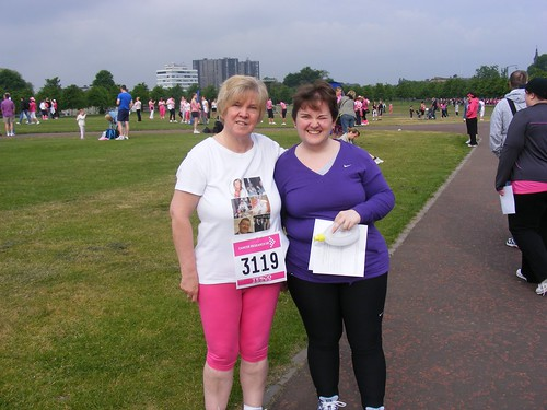 Mum and I pre race
