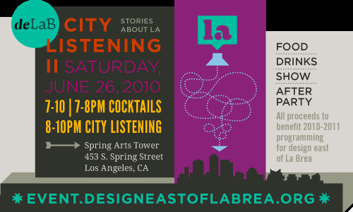 4690479109 a441588f6d Friday freebies: VIP tickets to deLabs City Listening II