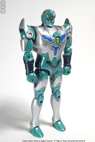Superhuman Samurai Syber-Squad - 9inch Amp
