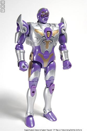 Robot Loves Monster Superhuman Samurai Syber Squad Part I