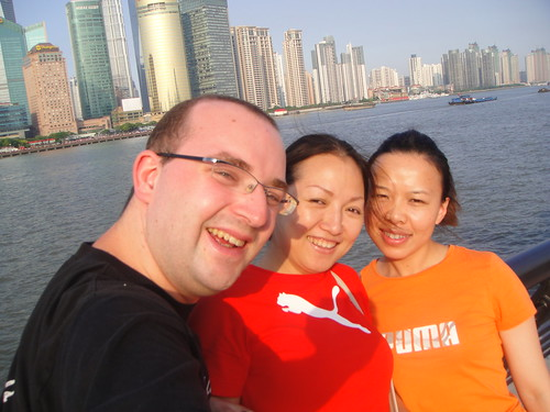 antoine rachel and linda at the bund