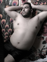 Chubby latino gay