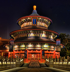 Disney - China at Night (MattSherman) Tags: china longexposure architecture night dark epcot nikon availablelight tripod disney fantasy wdw walt epcotcenter themepark waltdisney chinapavilion greatphotographers disneyparks disneyafterdark disneypics disneyphotos epcotworldshowcase d300s disneyphotography disneyimages disneypcitures