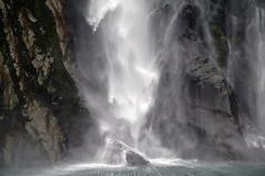 Spray, Stirling Falls (snaphappysal) Tags: newzealand waterfall nelson glacier vineyards dolphins seals queenstown fjord lordoftherings maori geyser blenheim milfordsound marlborough aotearoa rotarua theremarkables landofthelongwhitecloud fantasticnature