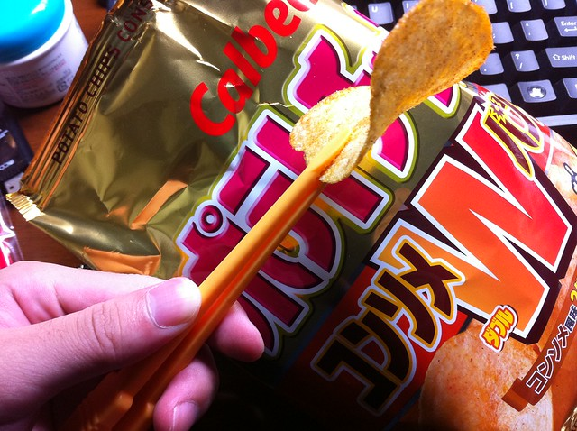 Chop stics for potato chips
