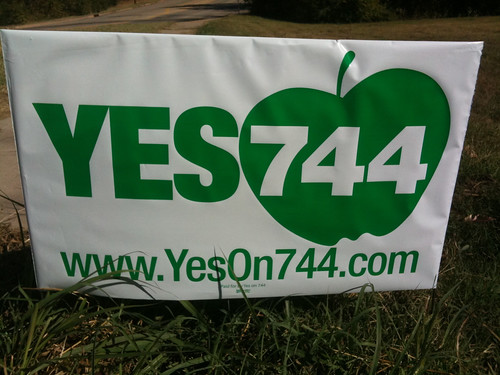 YesOn744.com