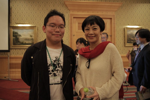 With Sylvia chang 张艾嘉