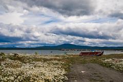 Puerto Natales - Regin de Magallanes (Erwin Thieme) Tags: chile sky clouds cielo nubes montaas puertonatales magallanes natales austral