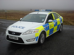 northern constabulary SY57CEU (corkyceosboy) Tags: c maciver burnt burning vandals police car fire engine caley timber macaskill haulasge western isles council uist lewis harris isle volva leyland daf scania ford transit ldv convoy mackinnon plant hire self drive focus mondeo blues twos officer sy57ceu