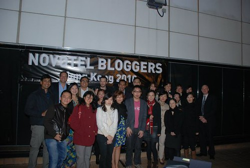 Novotel Bloggers Hong Kong 2010