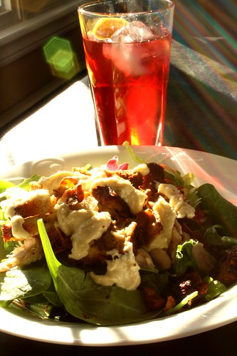 My version of Jamie Oliver's Proper Chicken Caesar Salad
