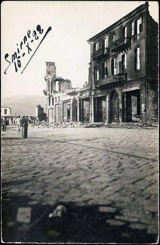 Yangından sonra İzmir. 15 Eylül 1922