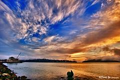 Sausalito Sunrise dramatic sky (davidyuweb) Tags: sky sunrise dramatic sausalito sfbay sfist