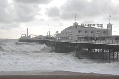 brighton_waves_001 (Peter-Williams) Tags: uk november sea sky storm beach water sussex pier brighton wave flume seafront groyne breaker 2010 bre