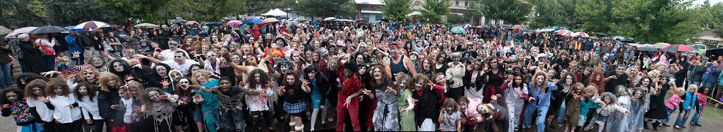Thrill the World Chico 2010 Group Photo