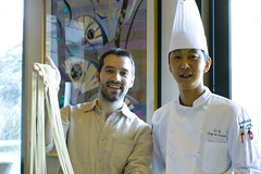 Lon and Chef Li Yu